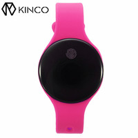 KINCO 0 66 OLED Bluetooth Waterproof Pedometer Motion Track Touch Switch Funtion Smart Wristband Bracelet For