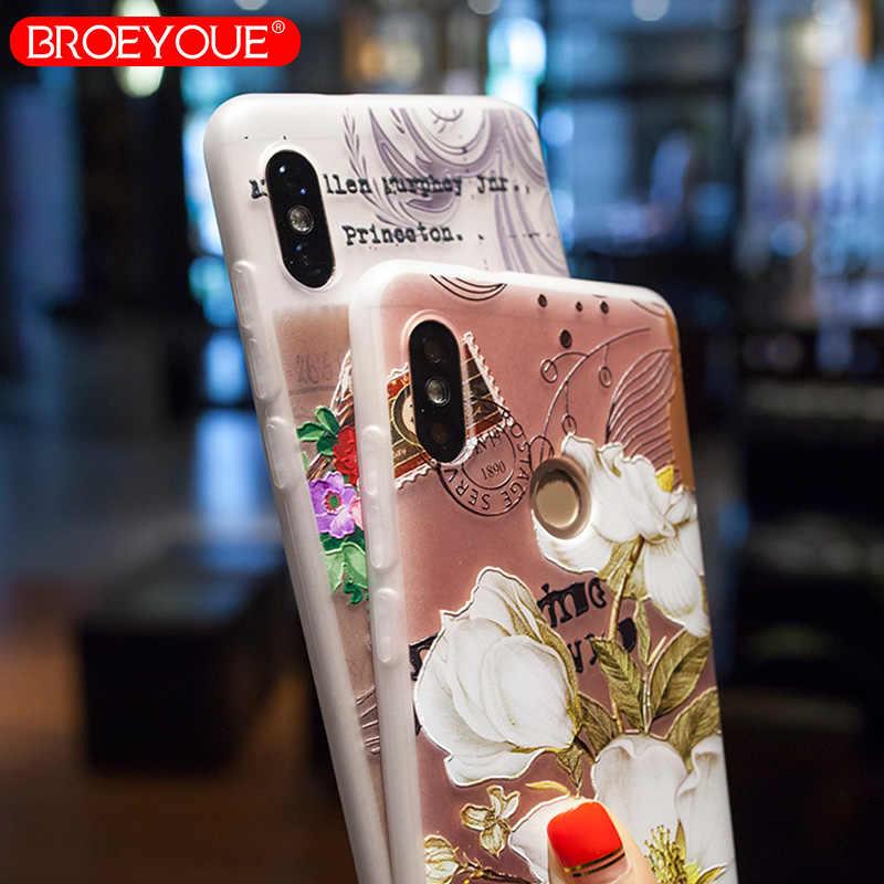 BROEYOUE чехол для Xiaomi Redmi Note 4x 5A 5 Pro 3 рельефный чехол для Xiaomi Redmi 4x 4A 5A 5 Plus 3X4 Prime 4 Pro MiA1 Mi6 5S чехол
