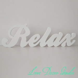 Free Shippingwedding decoration letters Custom3D Relax 3D Letters 15cm tall