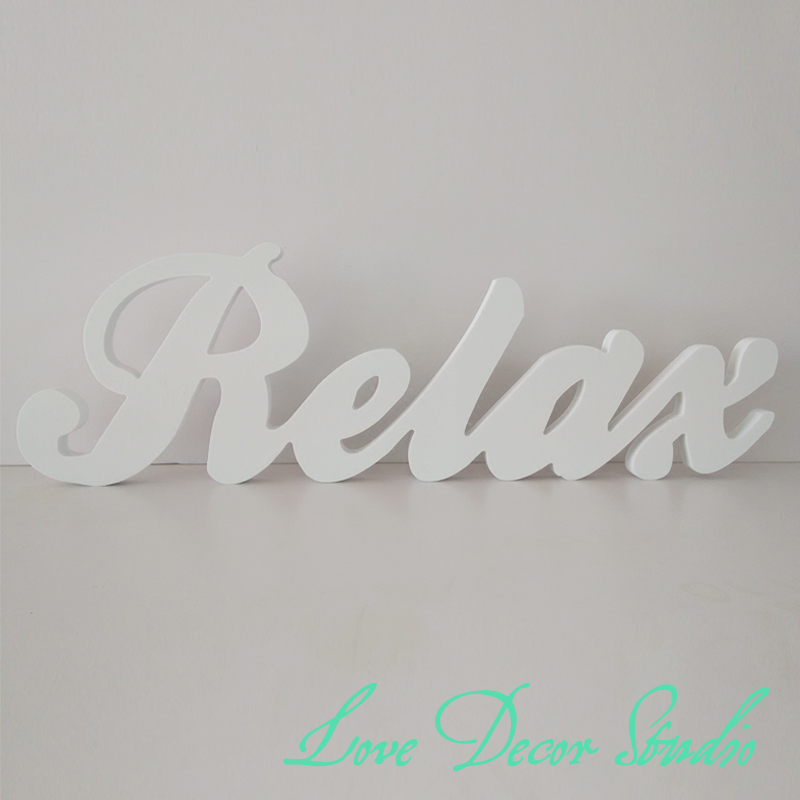 Wedding Decoration Letters Custom3D Relax 3D Letters 15cm Tall