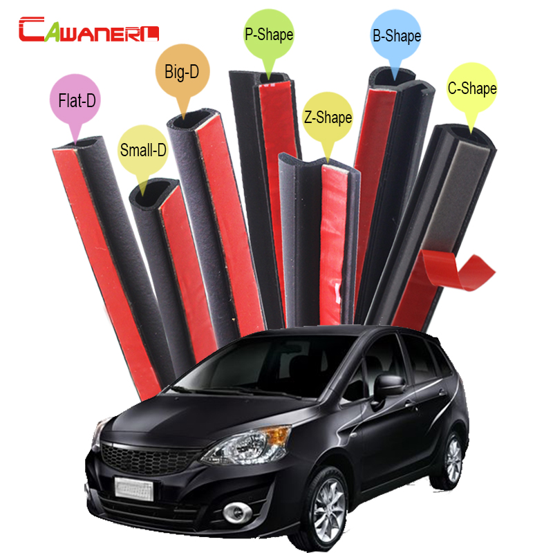 Cawanerl For Mitsubishi Colt Diamante Mirage Car Rubber Seal Sealing Strip Kit Noise Insulation Weatherstrip Seal Edging Trim цена
