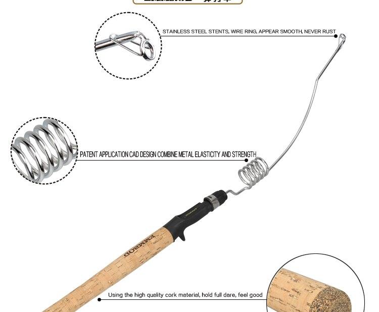 De Fundição De Pesca Vara De Pesca