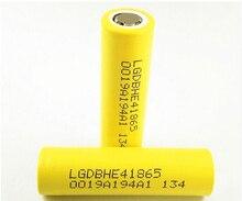 3ชิ้น/ล็อตใหม่LG DBHE41865 2500มิลลิแอมป์ชั่วโมงแบตเตอรี่ลิเธียม18650 3.7พลังงานบุหรี่อิเล็กทรอนิกส์แบตเตอรี่20Aปล่อย