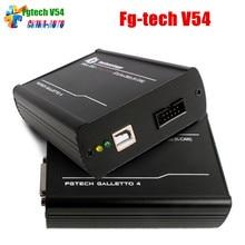 Ecu Programador Fgtech FG Tecnología Galletto 4 Master v54 herramienta de ECUS V 54 conjunto Completo Principal Función de Apoyo BDM FG Tecnología BS Envío gratis