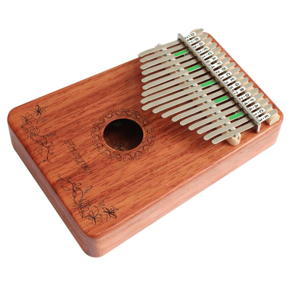 Flanger FK18 Kalimba Thumb Piano Wooden Kalimba Violin Accessories Adult Childrens Finger Piano Musical Instrument AccessoriesFlanger FK18 Kalimba Thumb Piano Wooden Kalimba Violin Accessories Adult Childrens Finger Piano Musical Instrument Accessories