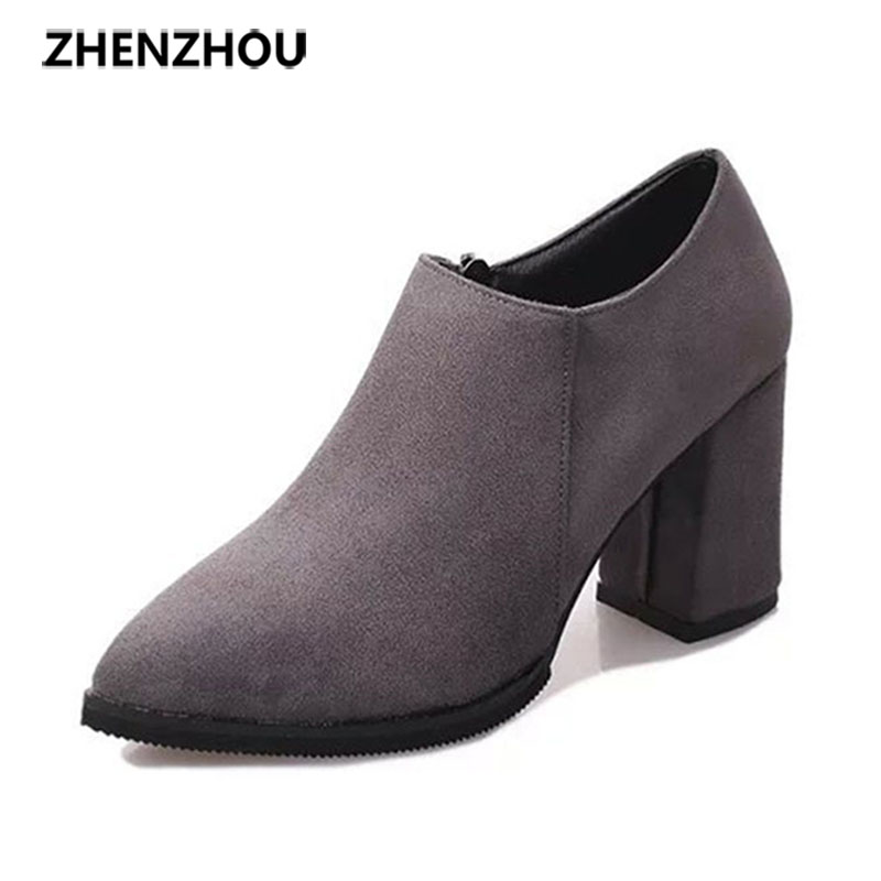 zhen zhou 2017 spring and autumn women's new fashion trend leadership High heels with nude boots exemption from postage pamela mccauley bush transforming your stem career through leadership and innovation