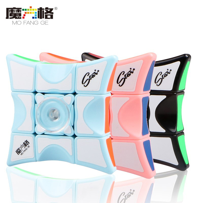 Mofangge Fidget Puzzle 1x3x3 Finger Spinner Cube Puzzle Qiyi 2018 Released Education Toys For Children Collection