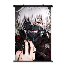 Tokyo Ghoul Japanese Anime Home Decor Wall Scroll Poster 40x60CM Dropshipping Wholesalers cartoon Halloween