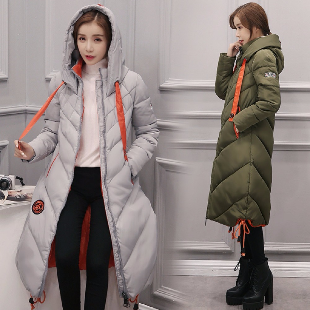 Women's Clothing Uhytgf Fashion Plus Size Women Winter Down Jacket With Fur Collar Warm Hooded Coat Slim Female Winter Coat Long Parka Outwear 88 Cheap Sales 50%