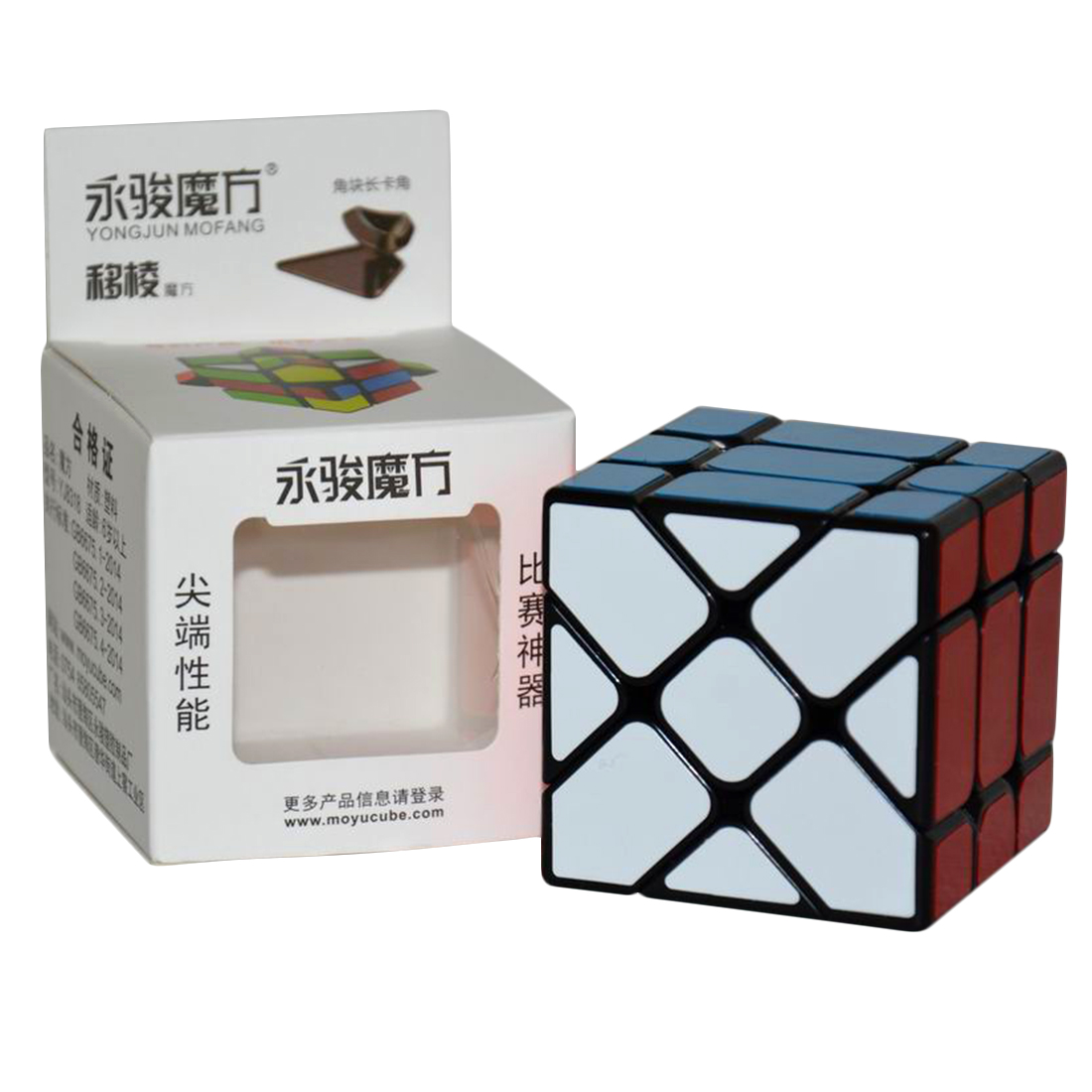 Image 2 - New Arrival YongJun YJ Speed 3X3X3 Fisher Cube Magic Cubes Speed Puzzle Learning Educational Toys For Children Kids cubo magico-in Magic Cubes from Toys & Hobbies