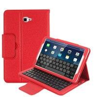 For Samsung Galaxy Tab A A6 10 1 2016 SM T580 T585 Bluetooth Keyboard Case Magnet