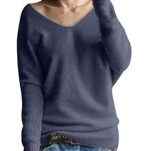 Базовые свитера женские 2019 корейский стиль Pull femme Модные женские  зимние с рукавами «летучая мышь 37ff1425120