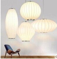 Mặt Dây Chuyền hiện đại Sáng phong cách Trung Quốc đèn lồng cá nhân sáng tạo bóng chiếc đĩa bay lụa đèn đèn cửa hàng quần áo mặt dây chuyền ya73118