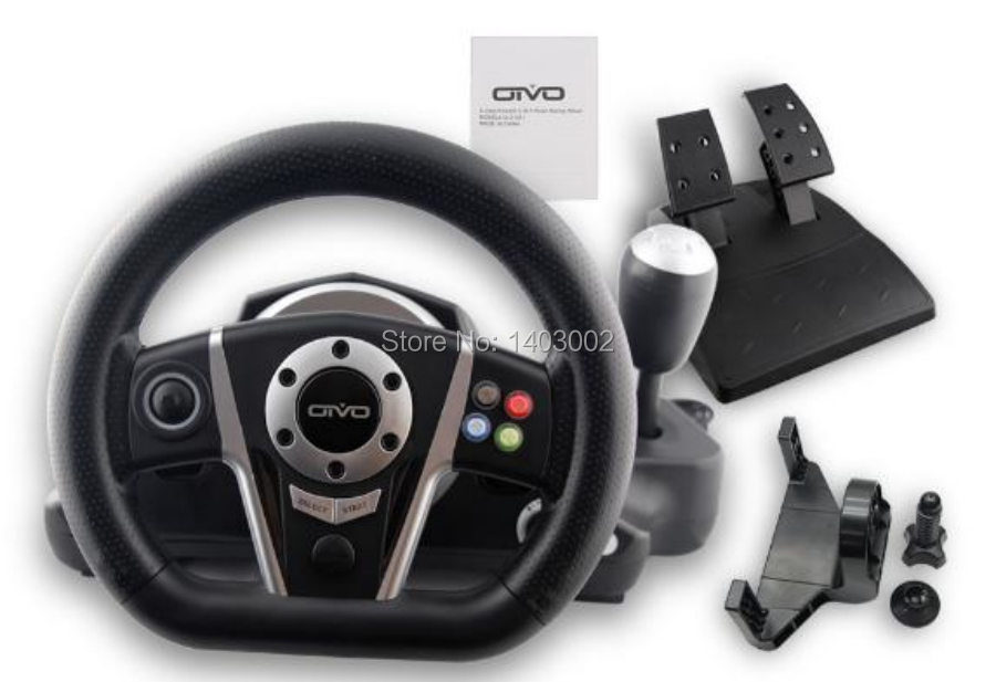 New Xbox One Racing Game : New multifunction game wired steering wheels with pedals
