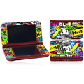 Bombing Design For NEW 3DS LL Console Protector Vinyl Skin Sticker for Nintendo NEW 3DS XL Decal Cover