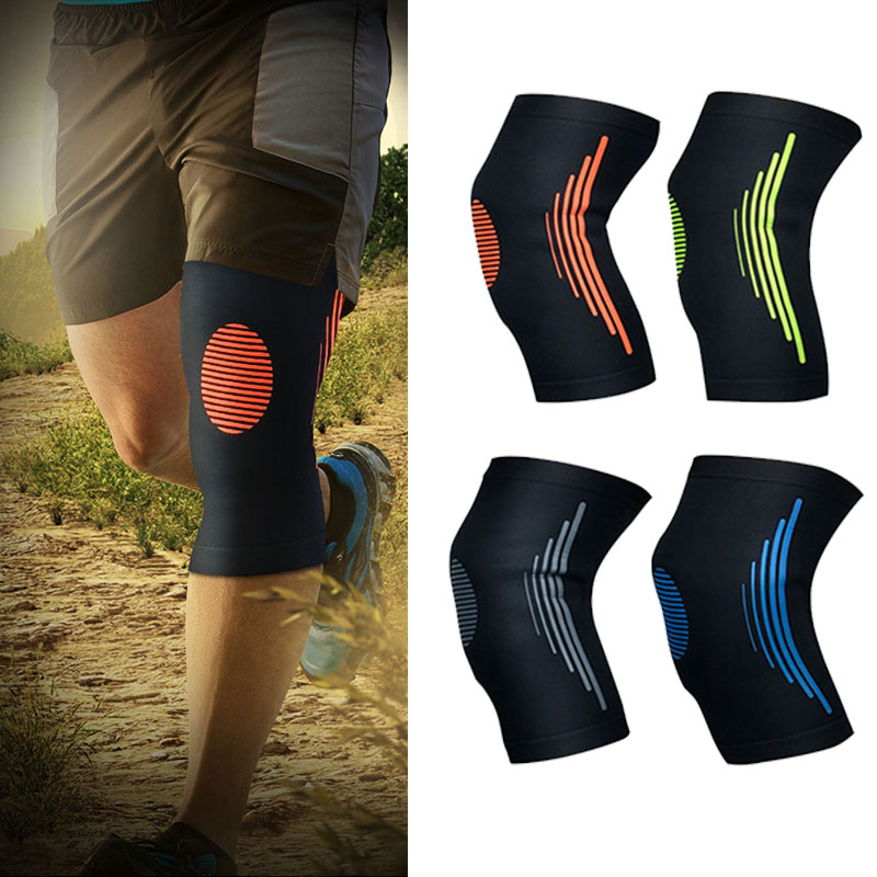 2018 Knee Support Professional Protective Sports Knee Pad Breathable Bandage Knee Brace for Hiking Basketball Tennis Cycling