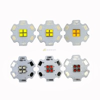 5pcs Cree XBD 4Chip 4LEDs XB D 12V Red Blue Green Cool White Warm White Neutral