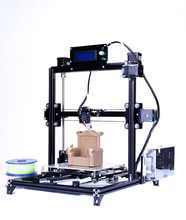 Flsun I3 3d Printer Plus Printing Size Touch Screen Dual Extruder Auto Leveling DIY 3D Printer Kit Heated Bed One Roll Filament