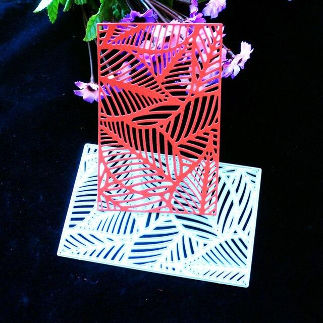 YLCD442 листьев резки металла штампов для скрапбукинга трафареты DIY альбом карты украшения тиснением папку умереть порезы шаблон