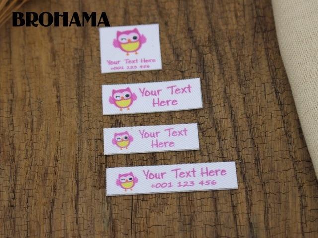 882c6831e Nombre personalizado etiqueta de la ropa de los niños de planchado de chico  y chica etiqueta
