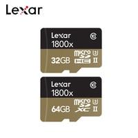 Lexar Professional Mirco SD Card 32GB 64GB 1800x Max Speed 270MB/s Memory Card SDHC SDXC TF Card For 4K Camera Drone