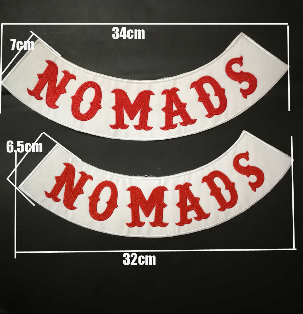 HELLS Motorcycle HAMC Patches of embroidered Iron On Biker