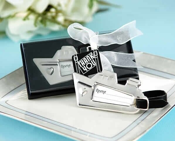 wedding favor gift and giveaways for guest -- Destination Love Cruise Ship Luggage Tag party souvenir 60pcs/lot