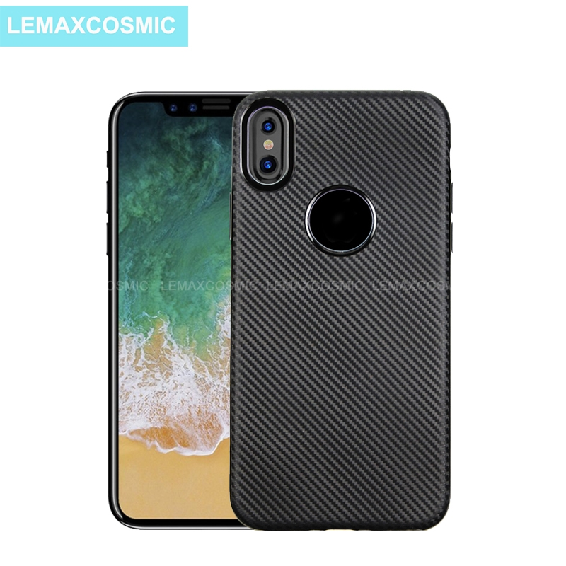 Luxury Cloth Texture Soft Tpu Case For Iphone 78 7 8 Plus Ultra-thin Vintage Soft Case For Iphone 6 7 8 X Case Back Cover Cellphones & Telecommunications