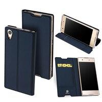 Fashion Leather Case For Sony Xperia XA1 XA1 Ultra XA1 Plus Luxury Flip Card Holder Stand
