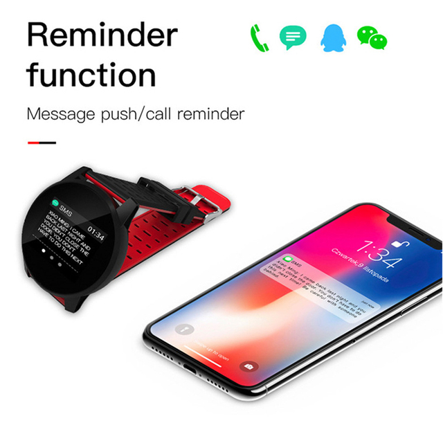 Smart Watch Men Sport Waterproof Activity Fitness tracker Women Blood Pressure Heart Rate Monitor Smartwatch Android ios