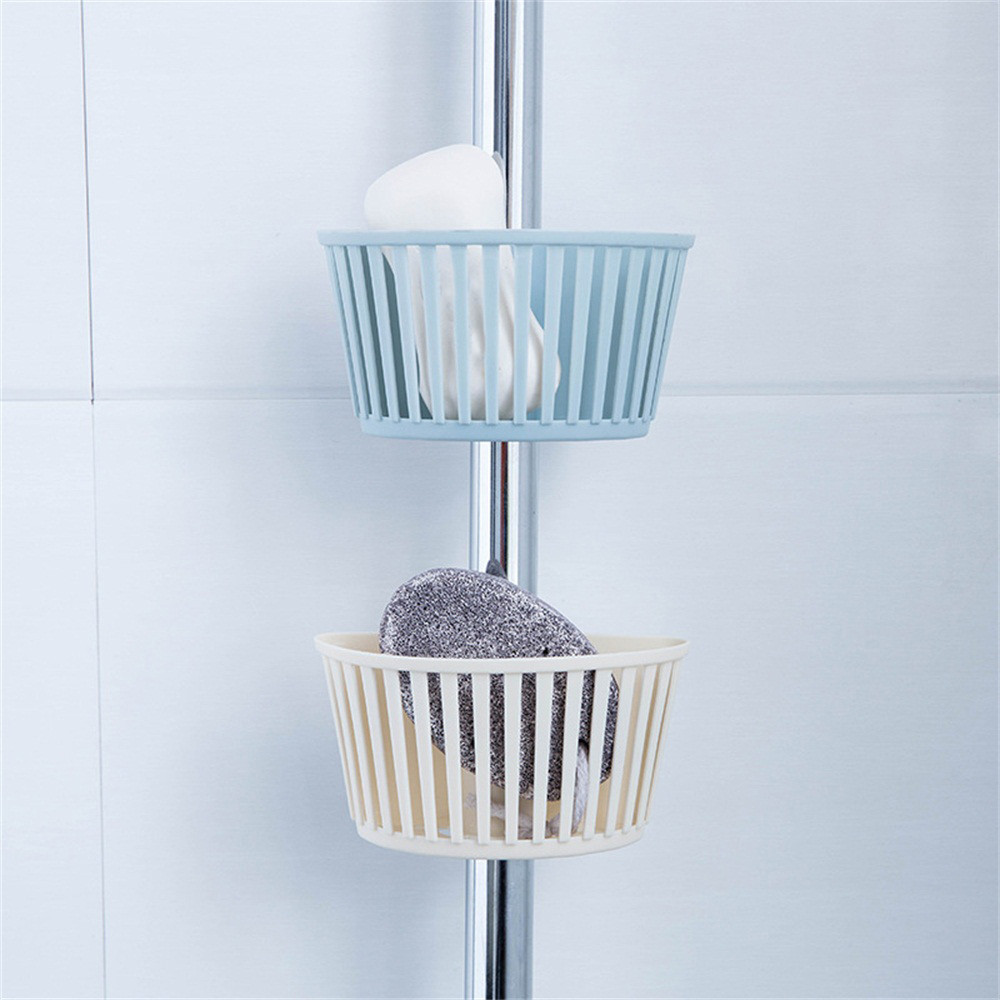 Kitchen Organizer Sponge Storage Hanging Basket Drainer Kitchen Sink Adjustable Snap Sink Rack Hanging Kitchen Holder z0604#G30