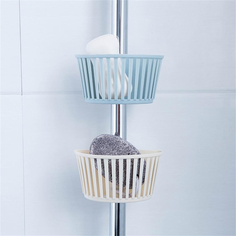 Kitchen Organizer Sponge Storage Hanging Basket Drainer Kitchen Sink Adjustable Snap Sink Rack Hanging Kitchen Holder z0604#G30