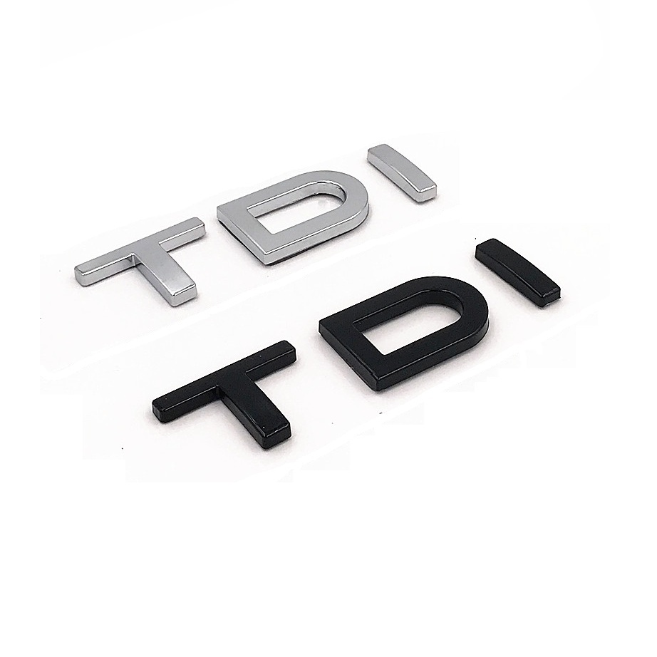 Chrome New V6T Emblem Badge for Audi A1 A3 A4 A5 A6 A7 Q3 Q5 Q7 S6 S7 S8 S4 SQ5