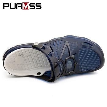 2019 New Men Sandals Summer Flip Flops Slippers Men Outdoor Beach Casual Shoes Cheap Male Sandals Water Shoes Sandalia Masculina
