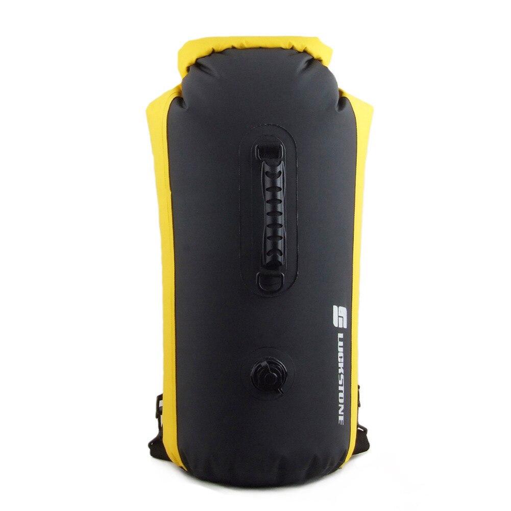 60L Pvc Waterproof Dry Bag Swimming Backpack Kayak Rafting Drifting Camping Hiking Rucksack Inflatable