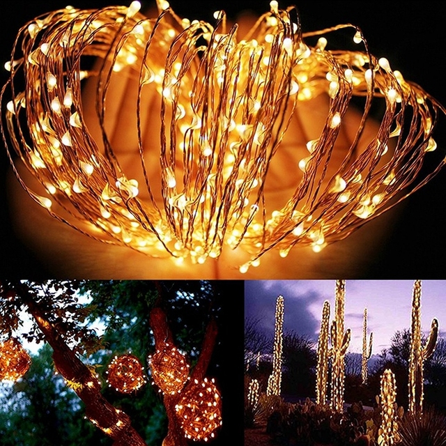 LED Solar Powered String Lamp