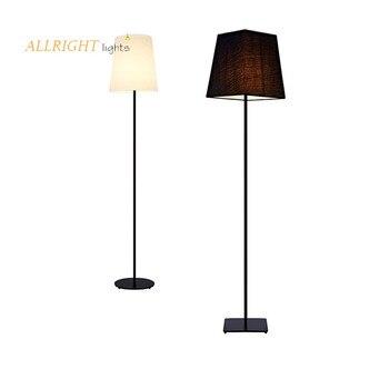 مصباح أرضي معدني LED عصري مصنوع يدويًا بجودة عالية زخرفة جديدة لون أسود لغرفة النوم وغرفة المعيشة