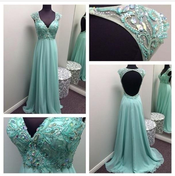 20232f915 Vestido madrinha azul tiffany aliexpress - Vestidos baratos