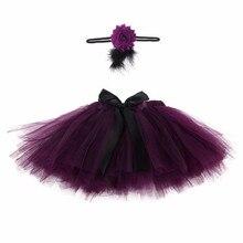 Летний комплект одежды для маленьких девочек клетчатая юбка+ лента для волос для девочки одежда костюм для новорожденного наряды для фотосессий