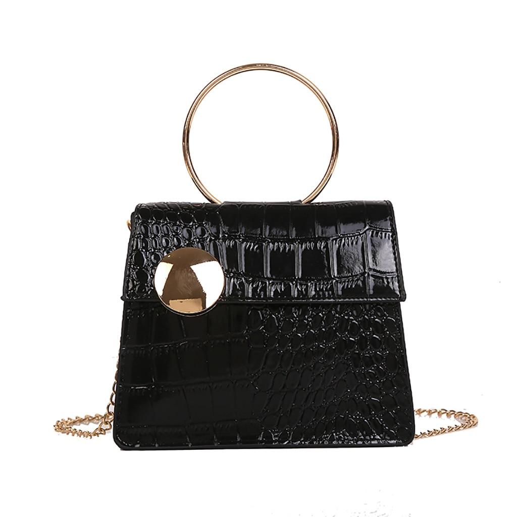 women-bag-stone-pattern-messenger-fashion-patent-leather-chain-bolsa-feminina-sac-a-main-femme-de-marque-soldes-torebki-damskie