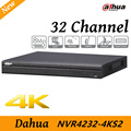 Free shipping New Dahua NVR4232-4KS2 32 Channel H.265 1080P Support 2 SATA III Port Up to 6 TB capacity for each HDD 2 USB