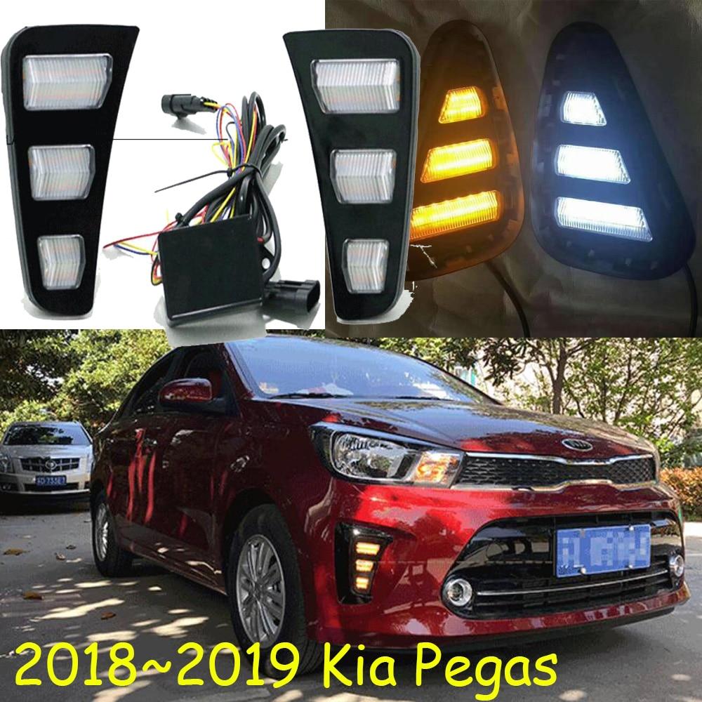 2018 2019 Bumper Pegas daytime light Ceed car accessories Pegas taillight sorento LED Pegas fog light