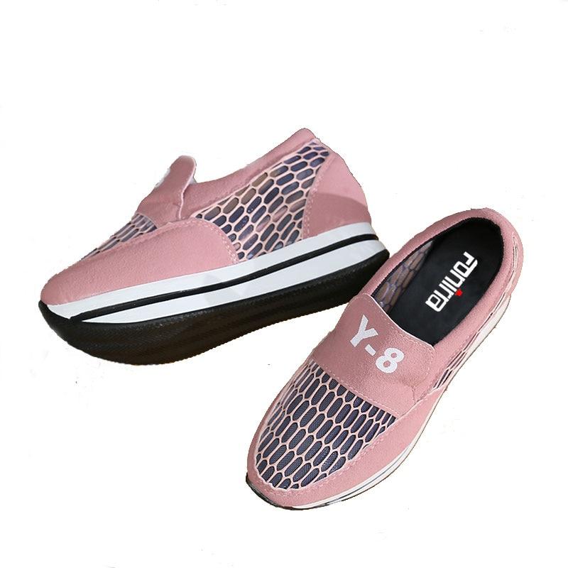 FONIRRA 2018 Neue Casual Shake Schuhe Frauen Sommer Candy Farben - Damenschuhe - Foto 2