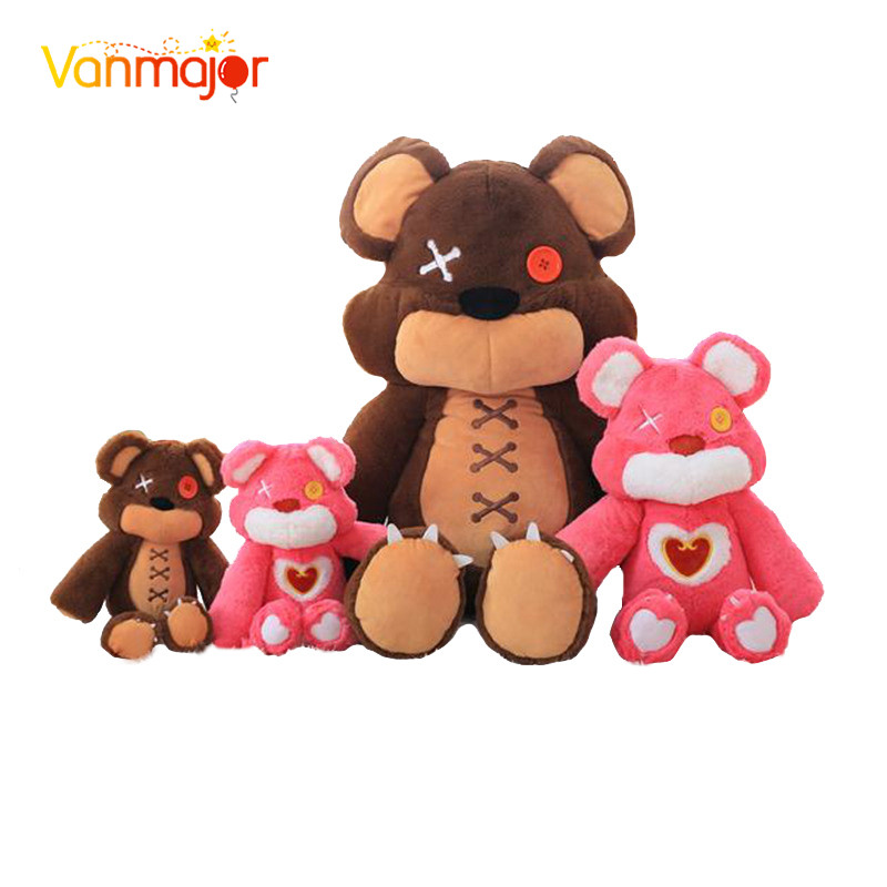 Vanmajor 40-60cm Game LOL Annies bear Plush dolls lol Pink Tibbers Stuffed Toys Great Birthday Gifts for Children