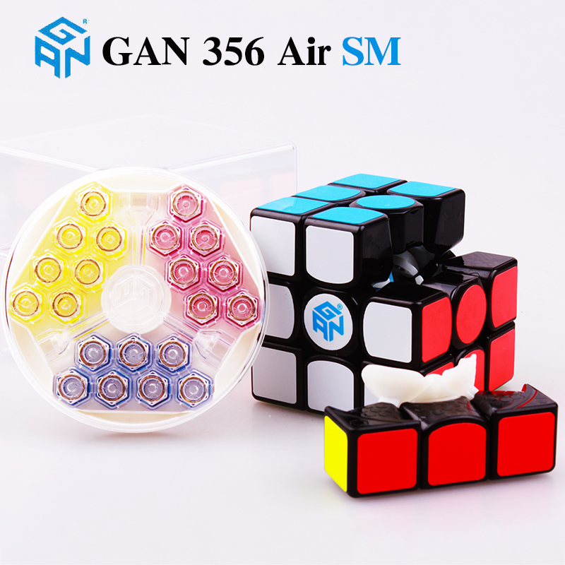 GAN 356 Air SM 3x3x3 Master Magnetic Puzzle Magic Cube Professional Gans Speed Cube Magico Gan356 Magnets Toys for Children Pakistan