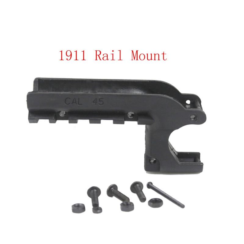 Clot 1911 M1911 45 Pistol Under Rail Mount Pistol Rail