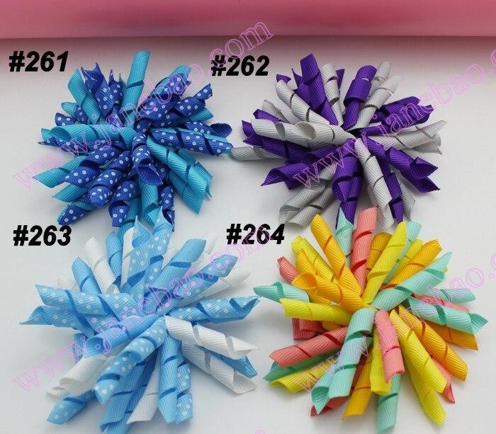 200 шт., 3,5 дюйма, коркер, банты(для шитья), цветные заколки для волос для девочек, заколки для волос, аксессуары