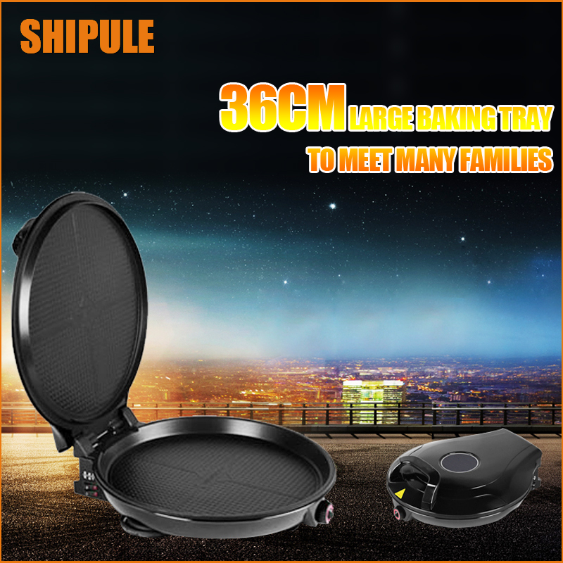 SHIPULE Electric Baking Pan Household Pizza Pan Pancake Machine Pancake Pan Roasted Pancake Machine Electric Cake