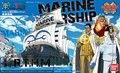 Bandai ONE PIECE grande navio coleção marinha modelo de plástico
