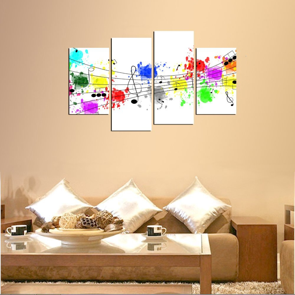 Magnificent Wall Art Music Notes Ideas - The Wall Art Decorations ...
